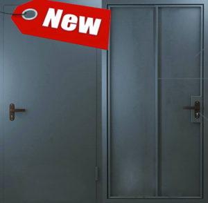 Дверь «Техническая» 1 лист металла.