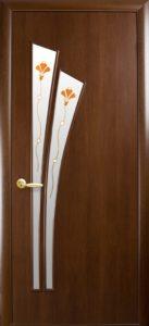 Дверное полотно «Лилия + Р1 экошпон»