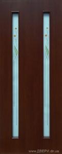 Дверное полотно «Вера + Р1» экошпон