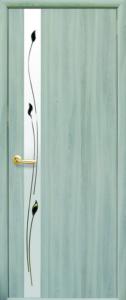 Дверное полотно «Злата + Р1» экошпон