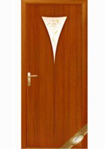 Распродажа! Дверное полотно «Бора» + Р1(стекло + рисунок)