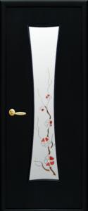 Дверное полотно «Часы + Р1 экошпон»