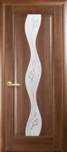Дверное полотно «Волна + Р2»