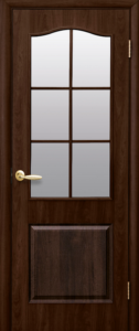 Дверное полотно «Классик со стеклом сатин»
