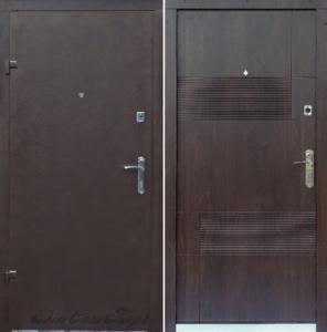 Дверь «Порошок Эконом Эскада-1»