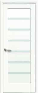 Дверное полотно «Линея белый матовый»