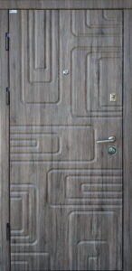 Дверь «Акцент Квадра» квартирная
