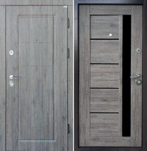 Дверь «Стандарт Мира/Грета BLK» квартирная