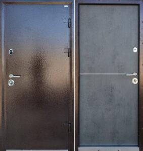 Дверь «Стандарт Steel» уличная