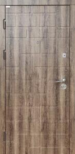 Дверь «Акцент Лайт Квадраты» квартирная