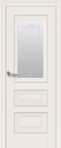 Дверное полотно «Статус» остекленное с молдингом
