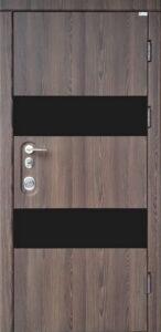 Дверь «Троя BLK» квартирная