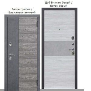 Входная дверь Орландо 95мм Вяз каньйон