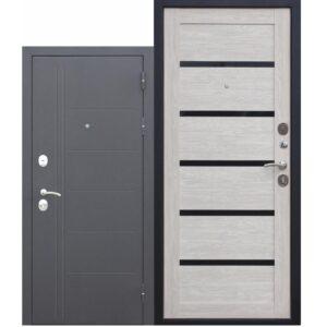 Входная дверь 115мм Троя Серебро