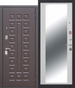 Входная дверь Сенатор 12 см Венге Зеркало