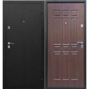 Входная дверь Сопрано метал/мдф Дуб шоколадный