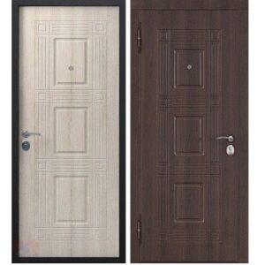 Входная дверь Виктория 55мм Темный кипарис